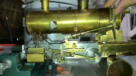 自制蒸汽动力火车——正反转装置测试