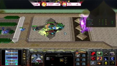 【于拉出品】魔兽RPG第1181期 战就战, 屠神黑岩剑圣! 小猪阿呆首次通关视频!_超清