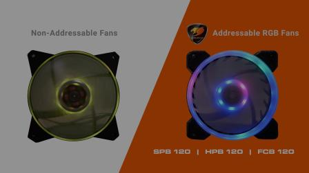 COUGAR 骨伽 独立寻址 RGB LED 风扇