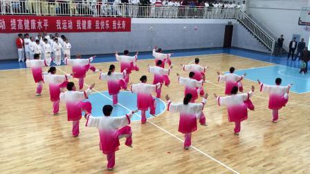 2018年长沙望城区老年太极拳比赛
