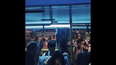 香港塞爆列車 2018.10.16