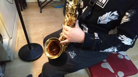 董钰晨萨克斯🎷吹奏《莫斯科郊外的晚上》