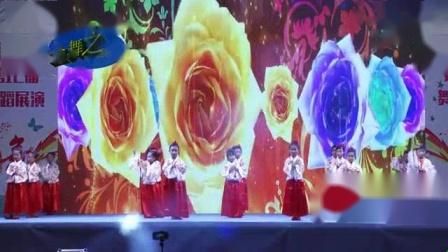 我在金舞之韵舞蹈联盟第12届展演第一场《中华孝道》截取了一段小视频