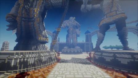 《我的世界》打造《魔兽世界》艾尔文森林与暴风城