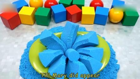 亲子早教动画 儿童创意手工制作动力沙彩虹草莓蛋糕!