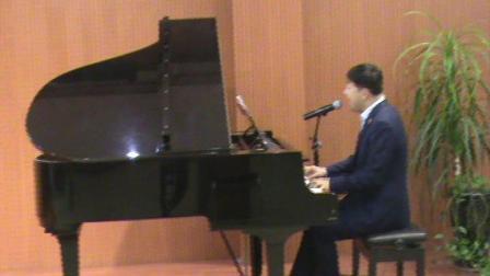 郑州高峰作词刘杰作曲钢琴弹唱军旅歌曲《踏上征途》