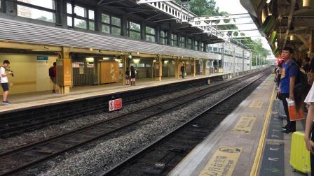 港鐵東鐵線SP1900 D217/D219離開及港穗直通車KTT Z828通過上水站