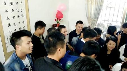 郴州市嘉禾县塘村镇伴嫁歌 结婚接亲流程 57分钟完整版 郭道志 腰鼓队婚车 求婚