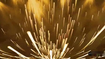 C927 AE模板 金色震撼大气年会颁奖晚会品牌计划 开场片头LED大屏开场视频制作