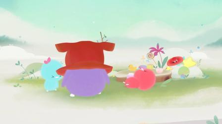 小鸡彩虹 英文版 第二季 小青的杂货铺