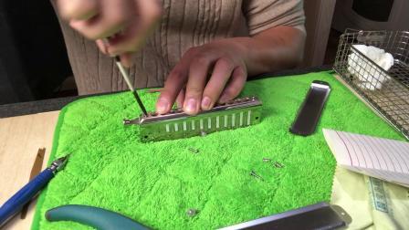 小光拆拆拆Seydel Saxony 12孔半音阶口琴清洗吹嘴安装上油演示