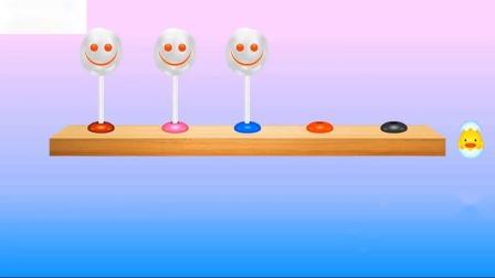 学习儿童蜡笔颜色与数字和儿童的儿童教育视频的颜色