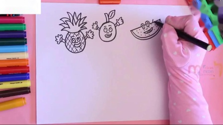 如何为孩子画笑脸着色页我的孩子押韵