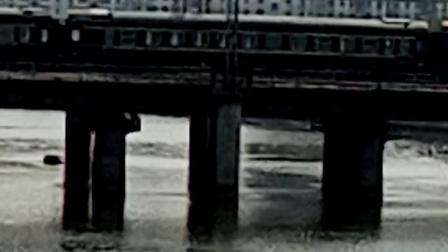 SS8-K8728次 萍乡-南昌 晚点32分钟通过 经典小绿皮 25G南局昌段