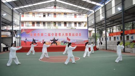 宣威市第二届中老年体育运动会