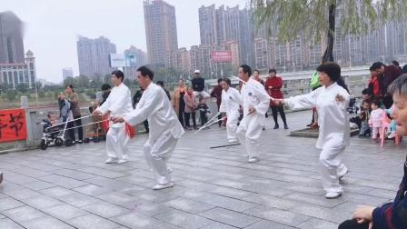 2018太极剑表演