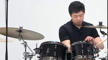 我在褚伟明《你把我灌醉》爵士鼓演奏技巧截取了一段小视频