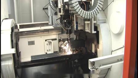马扎克长尺寸管材型材激光机3D FABRI GEAR 220 MK II