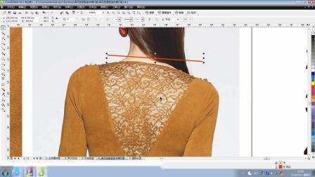 服装打版纸样教程麻花扭造型连衣裙打版-1