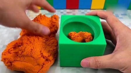 亲子早教动画 儿童手工DIY太空沙冰淇淋蛋糕!