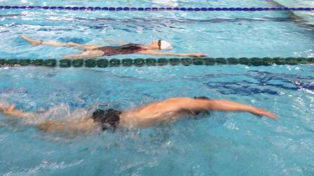 50米自由泳游泳