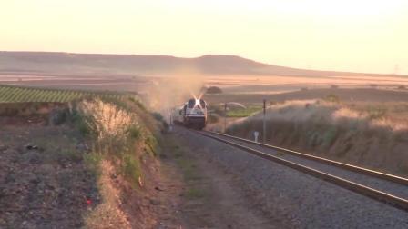 带你去看西班牙的火车,在安达卢斯到埃斯特雷马杜拉间拍客运火车