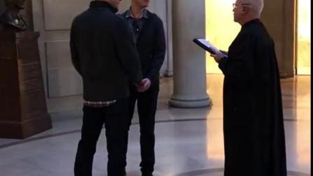 同性恋婚礼~美国旧金山市政厅