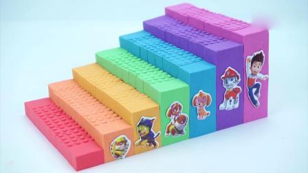 亲子早教动画 儿童DIY太空沙彩虹楼梯模型培养孩子动手制作能力