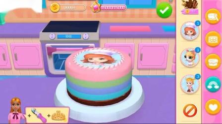 玩蛋糕制作师烹饪儿童游戏面包店帝国婴儿学习烘焙装饰服务蛋糕