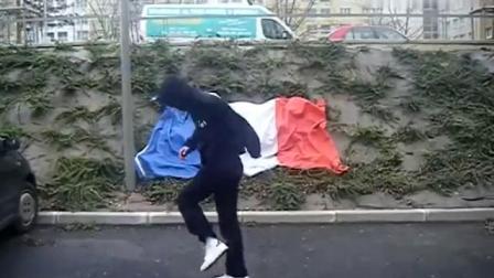 法国面具男鬼步舞原版的来了这才是鬼步舞的鼻祖