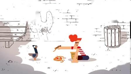 《趣味小故事》猜不到结局的脑洞小动画——谁的午餐?