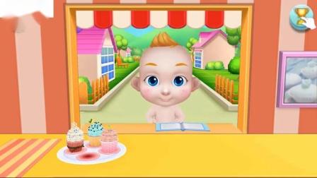 趣味制作3蛋糕游戏真正的蛋糕制作商3烘焙设计和装饰彩色糖果蛋糕儿童游戏
