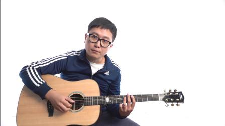 【玄武吉他教室】弹唱教学 卡马G1演示 李宗盛《山丘》第三部分