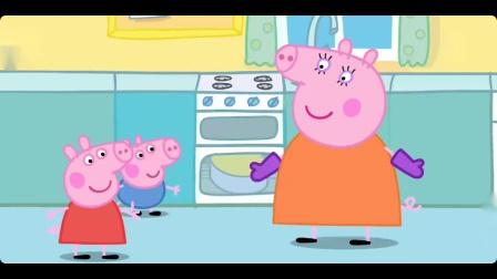 小猪佩奇生日派对做蛋糕游戏