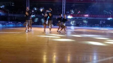 中国·上饶2018年全国拉丁舞比赛六岁以下六人组