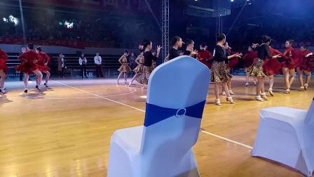 中国·上饶2018全国拉丁舞锦标赛12岁六人组