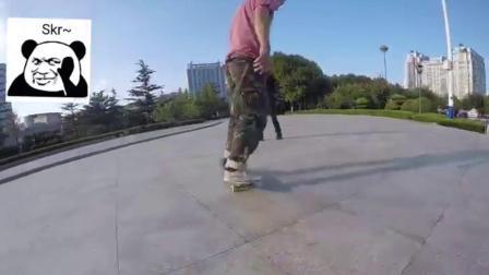 九月主题滑板活动 #尖翻60秒# 集锦
