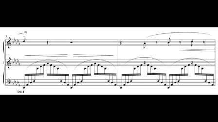 【樂理課堂】分析:DBTm.mth10 - Liszt Un Sospiro, Harmonic Analysis