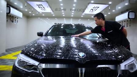 宝马540i 龙膜隐形车衣漆面透明保护膜施工案例