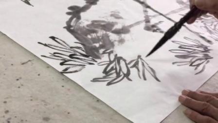 画仙鹤(三)钱启华授课