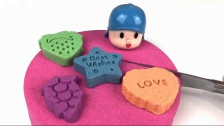 奥利奥饼干学习动力砂生日蛋糕的颜色