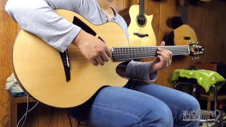 飞鸟吉他 云雀青春版评测试听 沁音原声