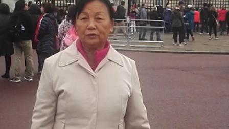 英国伦敦白金汉宫英女皇寢宫和办。公场所VID_20181015_154048