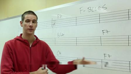 【爵士即興概念】 Martijn ▸ Blues和弦進行&連接1