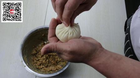小吃培训包饺子方法包包子制作