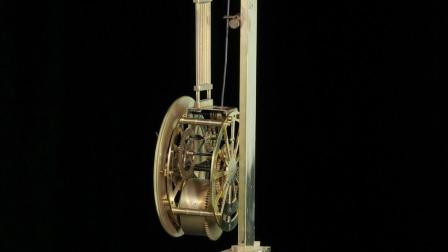 Self-Pendulum Bob Clock