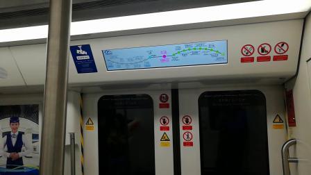 乌鲁木齐地铁1号线运行于(八楼-新疆图书馆区间)