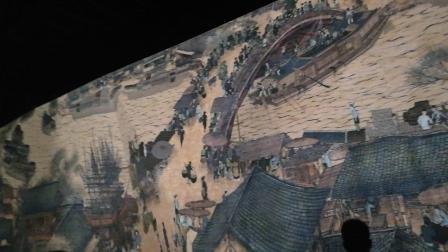 郑州人在上海,去上海世博圆拍的清明上河图