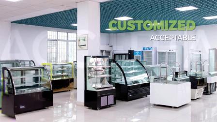 意式Gelato冰淇淋商用冰激凌柜展示柜硬质冰淇淋展示冰柜硬冰展示冰粥柜雪糕柜