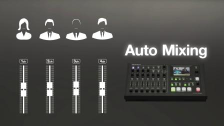 Roland VR-4HD All-In-One AV Switcher with Streaming or Recording